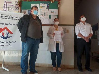 Pediatra asume dirección del Centro de Salud de Yby Yaú
