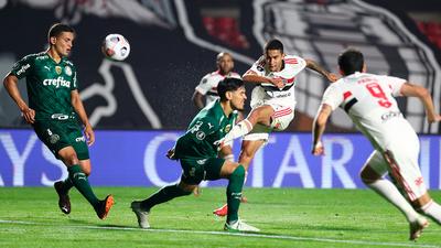 Palmeiras recibe a São Paulo para definir el semifinalista