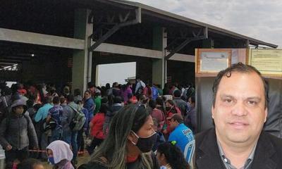 Ministro Varela viola decreto presidencial al aglomerar beneficiarios de Tekoporã en el Merkaaguazú – Prensa 5