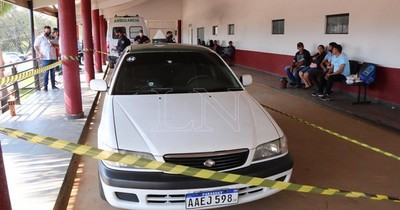 La Nación / Persecución policial a un taxi terminó con la muerte de su ocupante