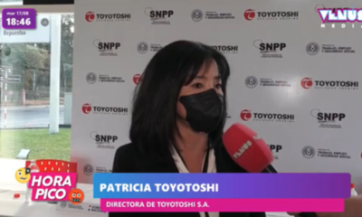 Toyotoshi firma convenio con el MTESS y el SNPP fomentando la inserción laboral