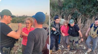 Presidente Abdo se comunicó con la brasileña rescatada del secuestro