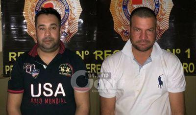 Policía  fue detenido por la Senad con marihuana en Pedro Juan  tras atropellar control