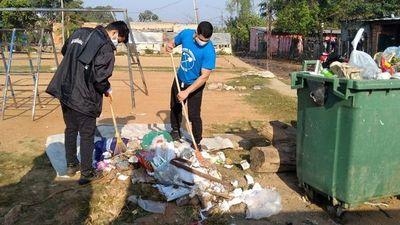 Arroyos en riesgo por falta de recolección de basura