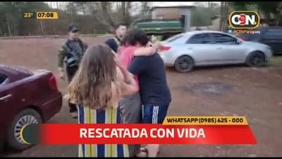 Exitoso operativo: Secuestrada volvió a casa sana y salva