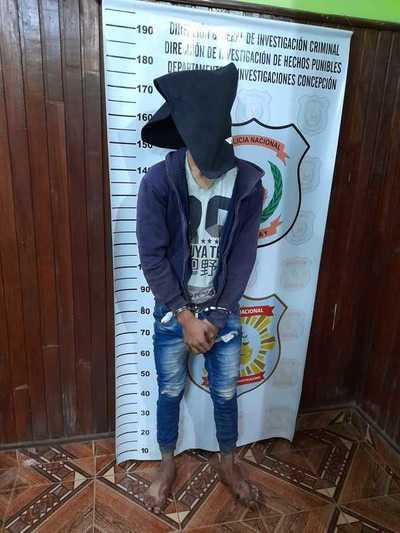 Cae menor supuesto responsable de varios asaltos en Concepción