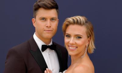Scarlett Johansson y Colin Jost recibieron a su primer hijo