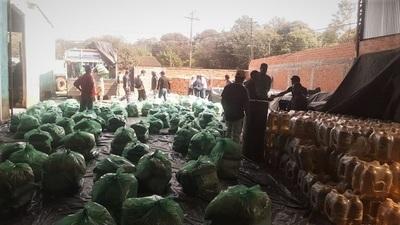 Gobierno inició la distribución de kits de alimentos a 16.400 familias misioneras