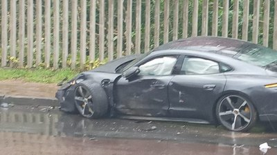 Paolo Guerrero sufre accidente automovilístico en Brasil