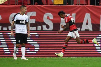 Flamengo se da otro festín y despide a Olimpia