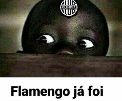 Los memes brasileños de la humillante derrota de Olimpia contra Flamengo