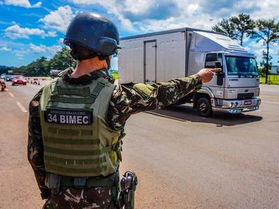 Brasil despliega tropas para reforzar combate a delitos transfronterizos