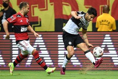 Otro duro golpe para Olimpia, fue goleado por el Flamengo
