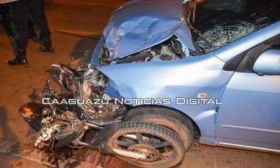 Motociclista falleció tras accidente de tránsito en Caaguazú – Prensa 5