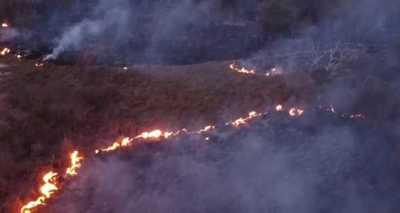 Incendios forestales y de pastizales ocasiona serios daños