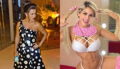 "Marly salió en defensa de la ""Barbie Paraguaya"""
