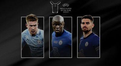 UEFA anunció a los finalistas al mejor jugador del año