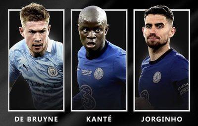 UEFA da a conocer a nominados al Jugador del Año 20/21