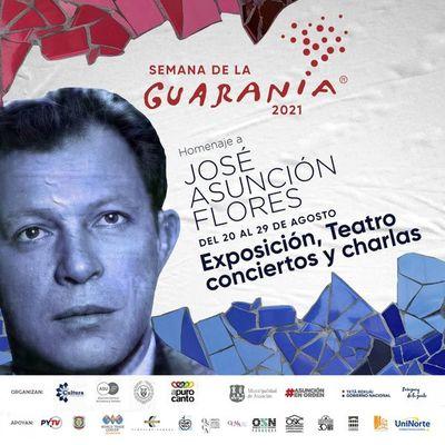 """Homenajearán en la """"Semana de la Guarania"""" a este género musical y a José Asunción Flores"""