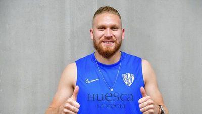 Isidro Pitta llegó al Huesca