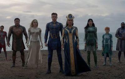 """Nuevo tráiler de """"Eternals"""", la colaboración de Marvel y la directora de """"Nomadland"""""""
