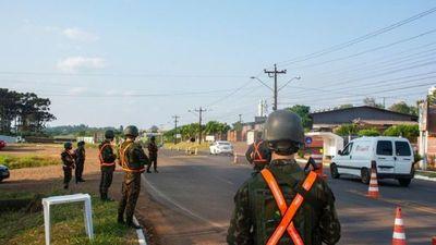 Brasil militariza la frontera para combatir hechos ilícitos