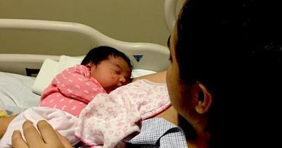 ¡Felicidad y emoción!: nació Mica, la segunda hija de Belén Irazusta!