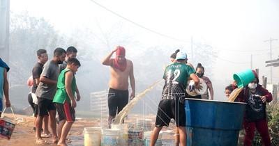 La Nación / Asunción y Central, llenos de humo por los incendios