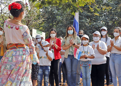 "Más de 3600 familias de Capiatá ingresan al Programa ""Ñapu'ake"""