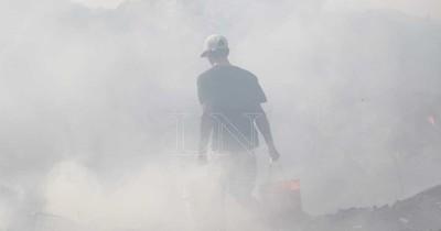 La Nación / Advierten que el humo en el ambiente puede ocasionar cuadros respiratorios