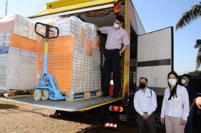 Llegó una camionada de medicamentos comprados por la Gobernación de Amambay