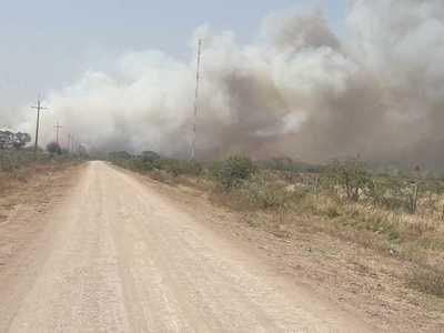¡Impresionante! Más de 4.000 focos de incendios se registran en territorio paraguayo