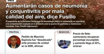 La Nación / LN PM: Las noticias más relevantes de la siesta del 20 de agosto