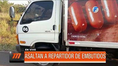 Asaltan un camión repartidor de embutidos en el Sur del país