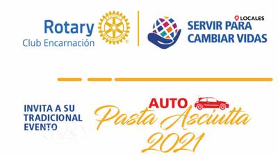 ROTARY CLUB ENCARNACIÓN TE ESPERA HOY A LA PASTA ASCIUTTA 2021