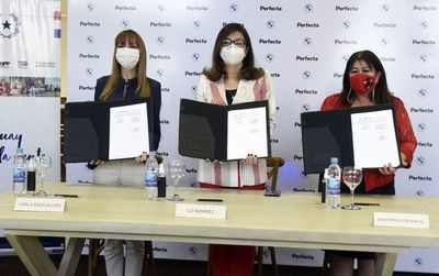 Perfecta firmó convenio con MTESS y SNPP