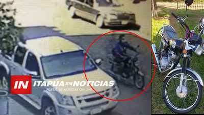 OTRO HURTO DE MOTOCICLETA EN ENCARNACIÓN.