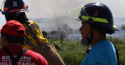 La Nación / Bombero pide a la ciudadanía tomar conciencia y no provocar incendios