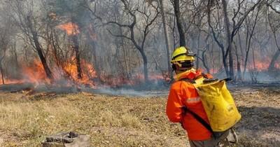 """La Nación / Paraguay en llamas: """"El parque Cerro Corá fue afectado en un 70%"""", según Mades"""