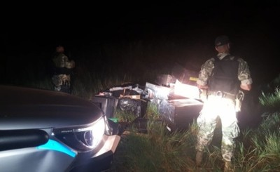 Armada incauta marihuana, cigarrillos y réplicas de armas en Alto Para