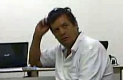 Primera dama Departamental Carolina Yunis echa a patadas de una reunión a Ramón Cantaluppi