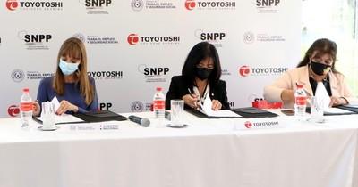 La Nación / Los colaboradores de Toyotoshi recibirán capacitación en el SNPP