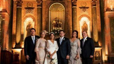 El enlace matrimonial de Belén y Daniel