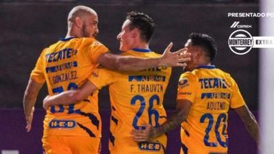 González marca en Tigres, mientras Toluca empata