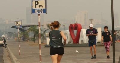 La Nación / Alergista recomienda no exponerse al aire contaminado por humo
