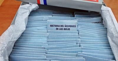 La Nación / Más de 200 instituciones enseñarán la historia de Ñeembucú en las aulas