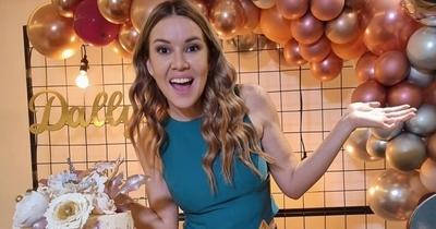 ¡Felicidades! Dallys Ferreira festejó su cumpleaños en familia