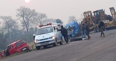 Accidente de tránsito en la ruta PYO5 se cobra la vida de un joven