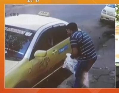 Pidieron viaje y asaltaron al taxista