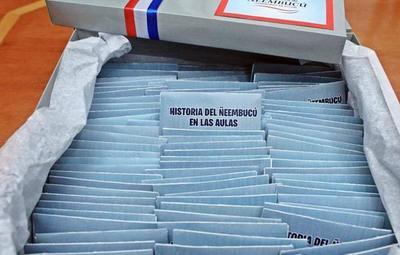 Alumnos de más de 200 colegios aprenderán la historia de Ñeembucú